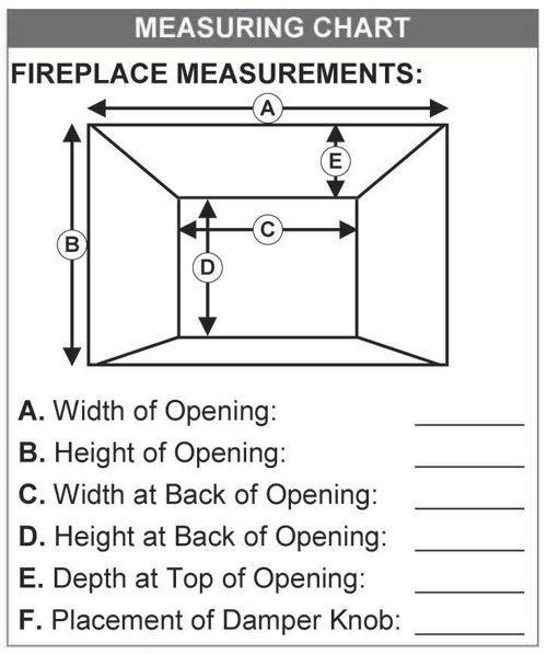 Gas Fireplace Inserts Chimney Sweep